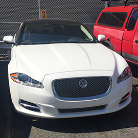 2015 Jaguar Vinyl Wrap